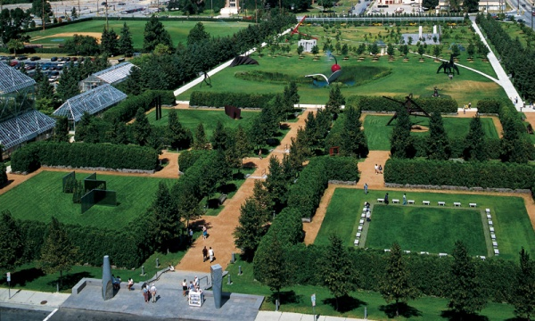 Although Sculpture Gardens Integrate Art Into The Outdoors, It Is Their  Formal Construction That Invalidate The Contained Sculptures As Land Art.