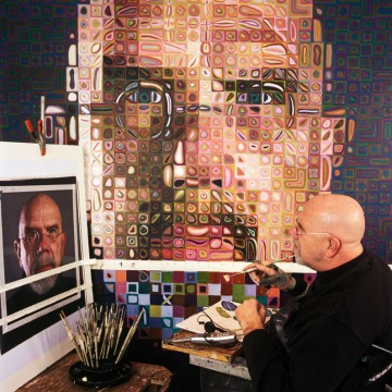 chuck close self portrait Walker Art
