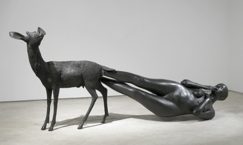 "Kiki Smith, <span class=""wac_title"">Born</span>"
