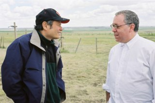 Ang Lee and James Schamus