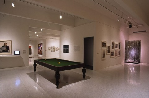 """Installation view of <span class=""""wac_title"""">American Tableaux: Selections from the Collection of Walker Art Center</span>"""